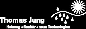 Unternehmenslogo Thomas Jung weiß